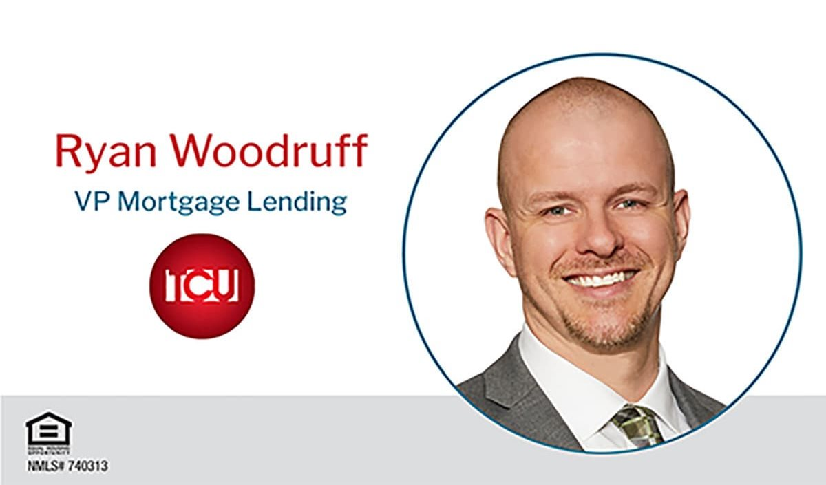 Ryan Woodruff Joins TCU as Vice President of Mortgage Lending